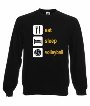 "Bluza siatkarska ""Eat sleep volleyball"" – uniwersalna"