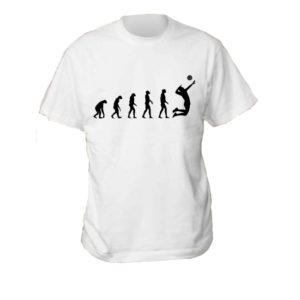 """Koszulka siatkarska """"Ewolucja siatkówki"""" – męska Stedman"""