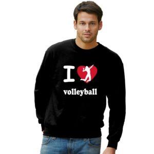 """Bluza siatkarska """"I love volleyball"""" – uniwersalna"""