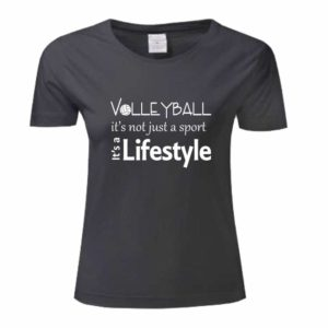 "Koszulka siatkarska ""Volleyball it is not just….."" – damska Stedman"