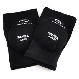 Nakolanniki siatkarskie dla dzieci Samba Junior czarne