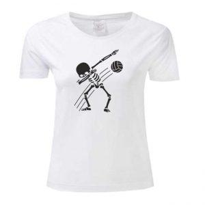 "Koszulka siatkarska ""Dabbing volleyball"" – damska Stedman"