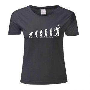 """Koszulka siatkarska """"Ewolucja siatkówki"""" – damska Stedman"""
