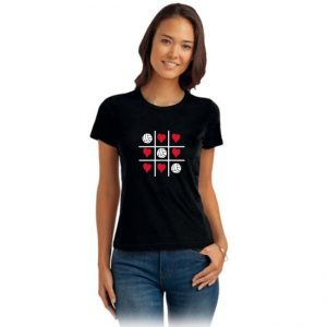 "Koszulka siatkarska ""Kółko i krzyżyk"" – damska Stedman"