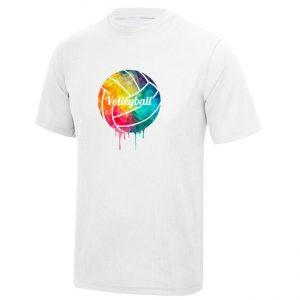 """Koszulka siatkarska """"Kolorowa piłka"""" – dziecięca poliestrowa"""