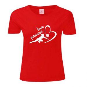 "Koszulka siatkarska ""Love passion"" – damska Stedman"