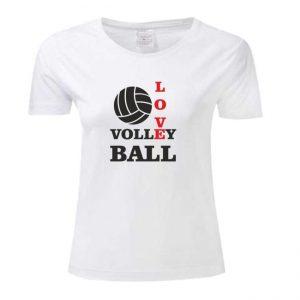 "Koszulka siatkarska ""Love volleyball"" – damska Stedman"