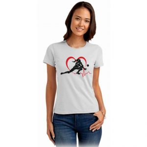Koszulka siatkarska Siatkarka w sercu 2 – damska Stedman